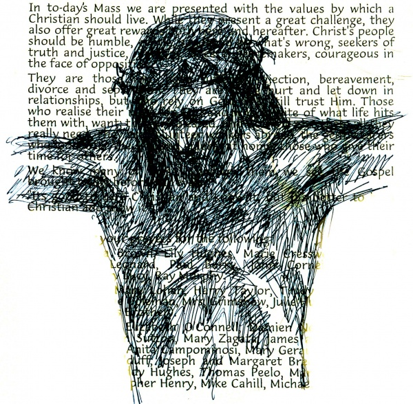 Studies from the Stations of the Cross 10