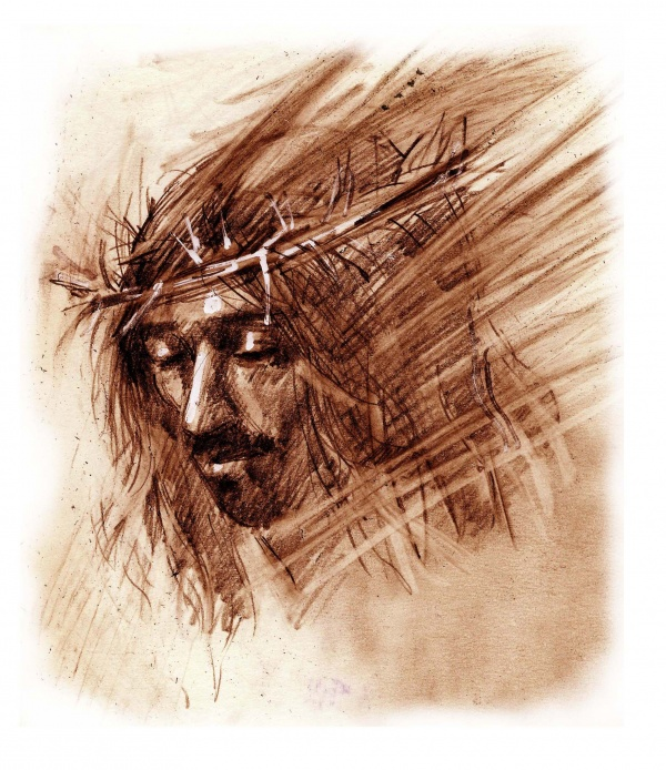 Studies from the Stations of the Cross 8