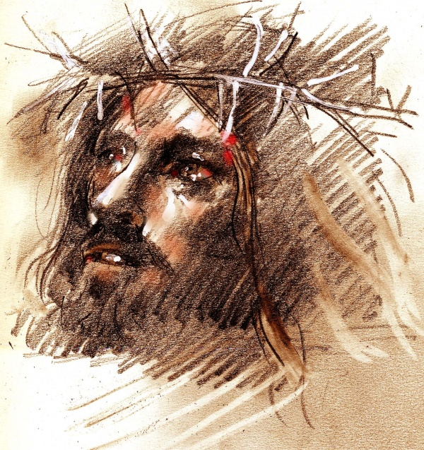 Studies from the Stations of the Cross 7