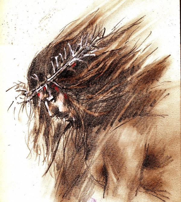 Studies from the Stations of the Cross 6