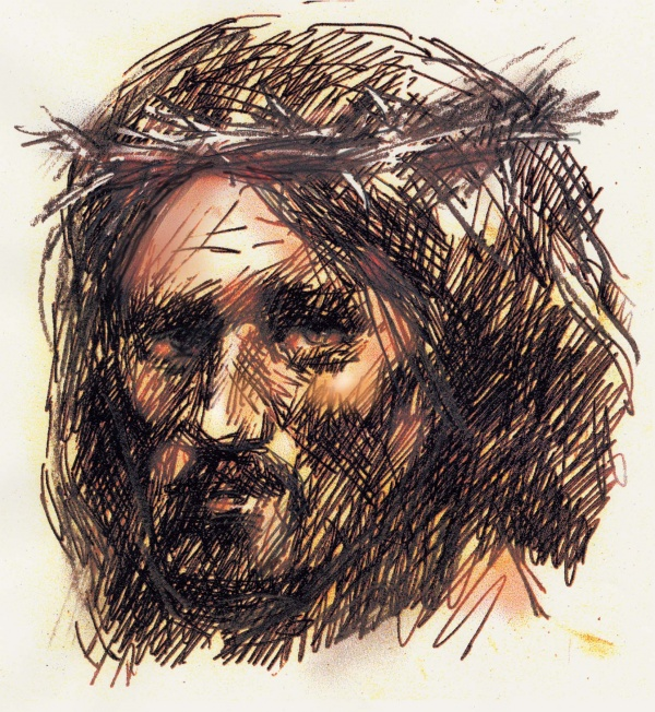 Studies from the Stations of the Cross 5