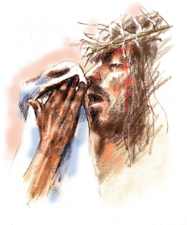 Studies from the Stations of the Cross 4
