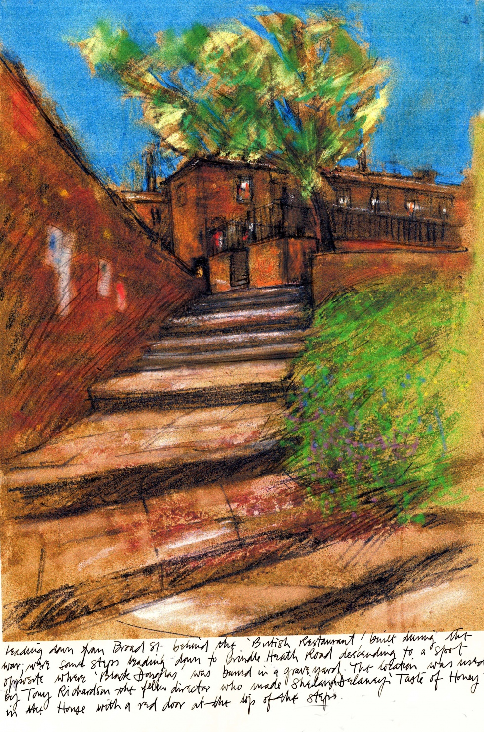 Chinese Steps, Salford